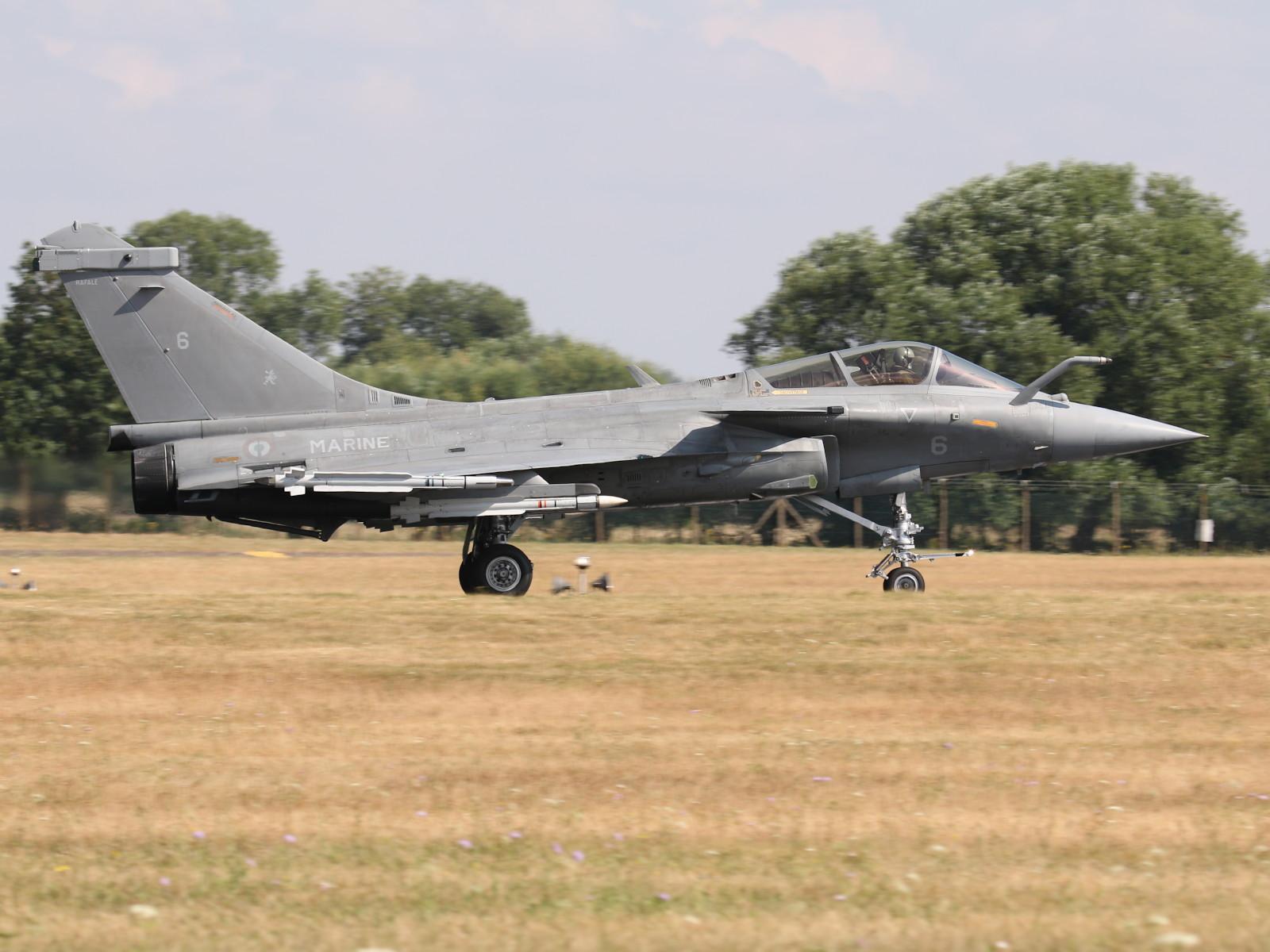Dassault Rafale M (6) der französischen Marine © Doppeladler.com