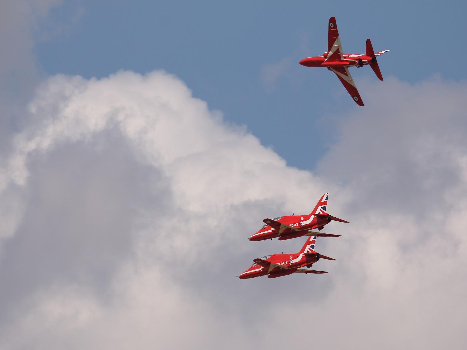Red Arrows auf BAE Systems Hawk T1 © Doppeladler.com