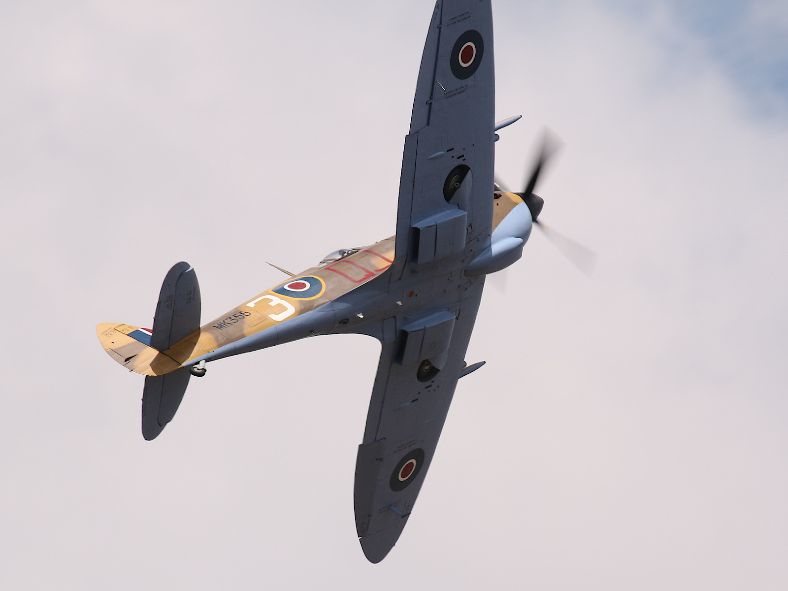 Supermarine Spitfire LF Mk IXc - MK356 © Doppeladler.com