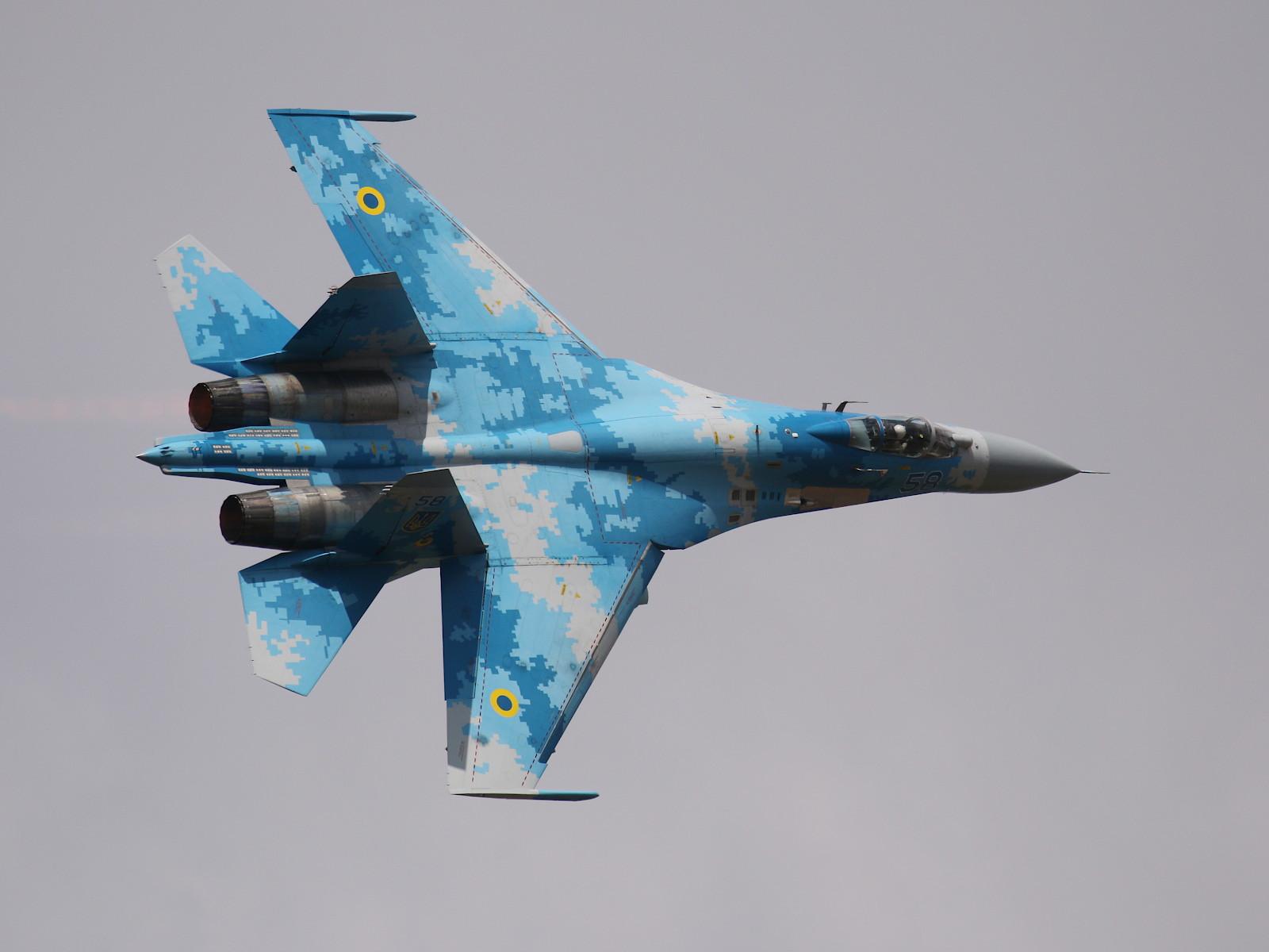 Sukhoi Su-27P Flanker 58 aus der Ukraine © Doppeladler.com