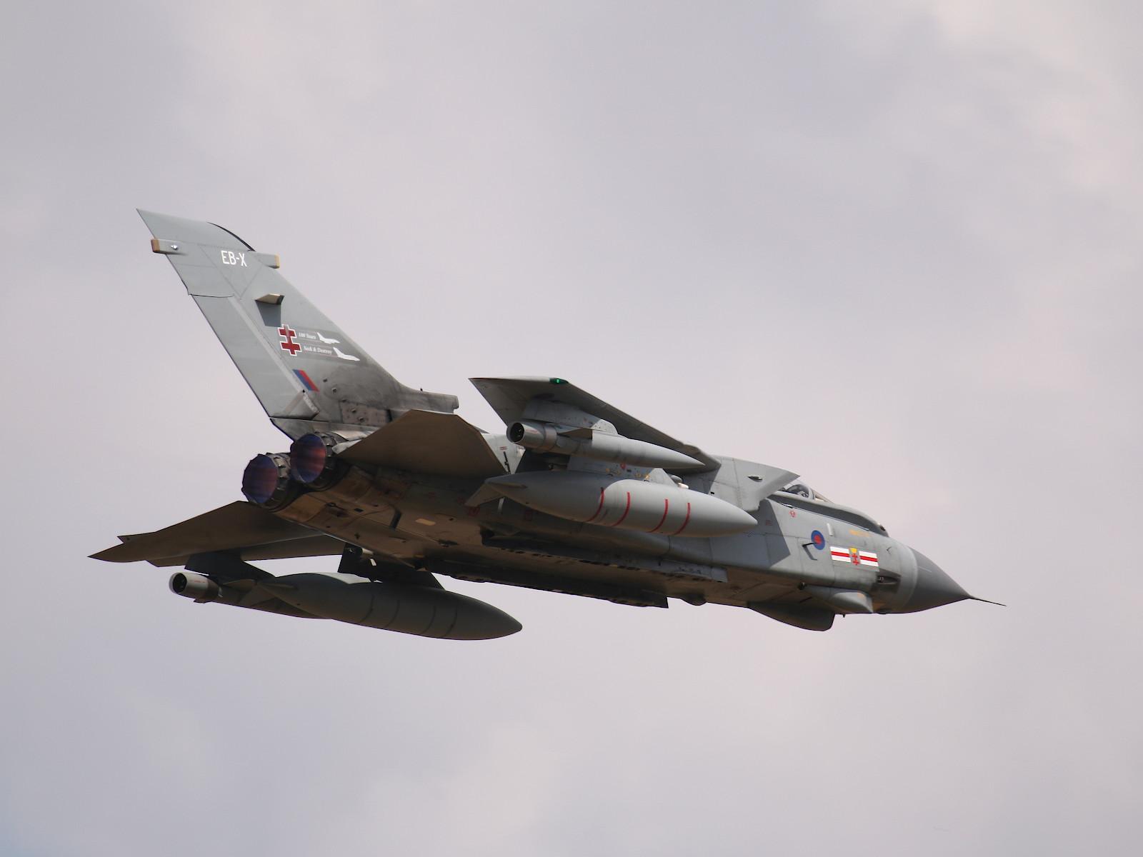 Panavia Tornado GR.4 ZA607/EB-X © Doppeladler.com
