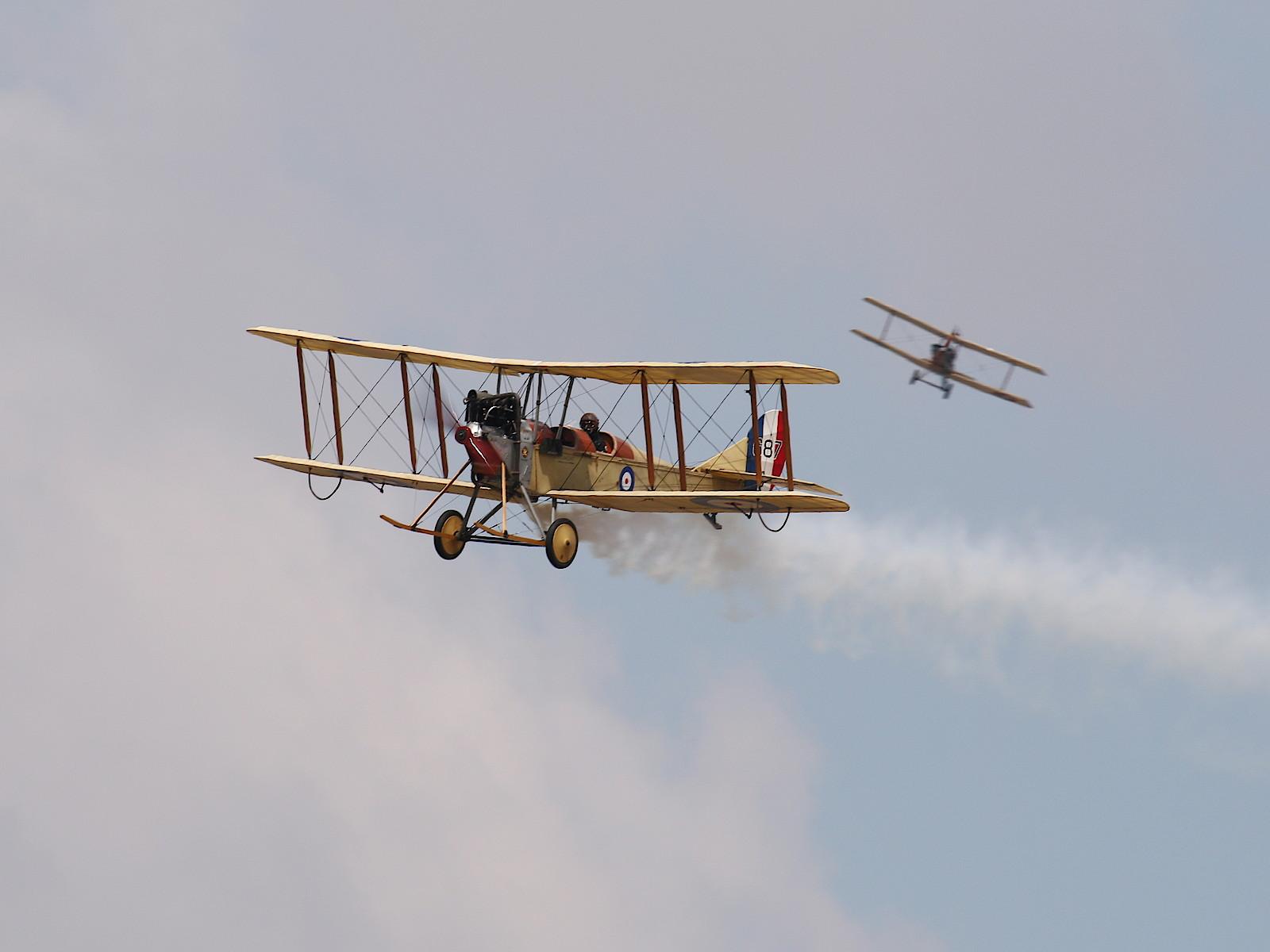 Royal Aircraft Factory BE2c 687 © Doppeladler.com