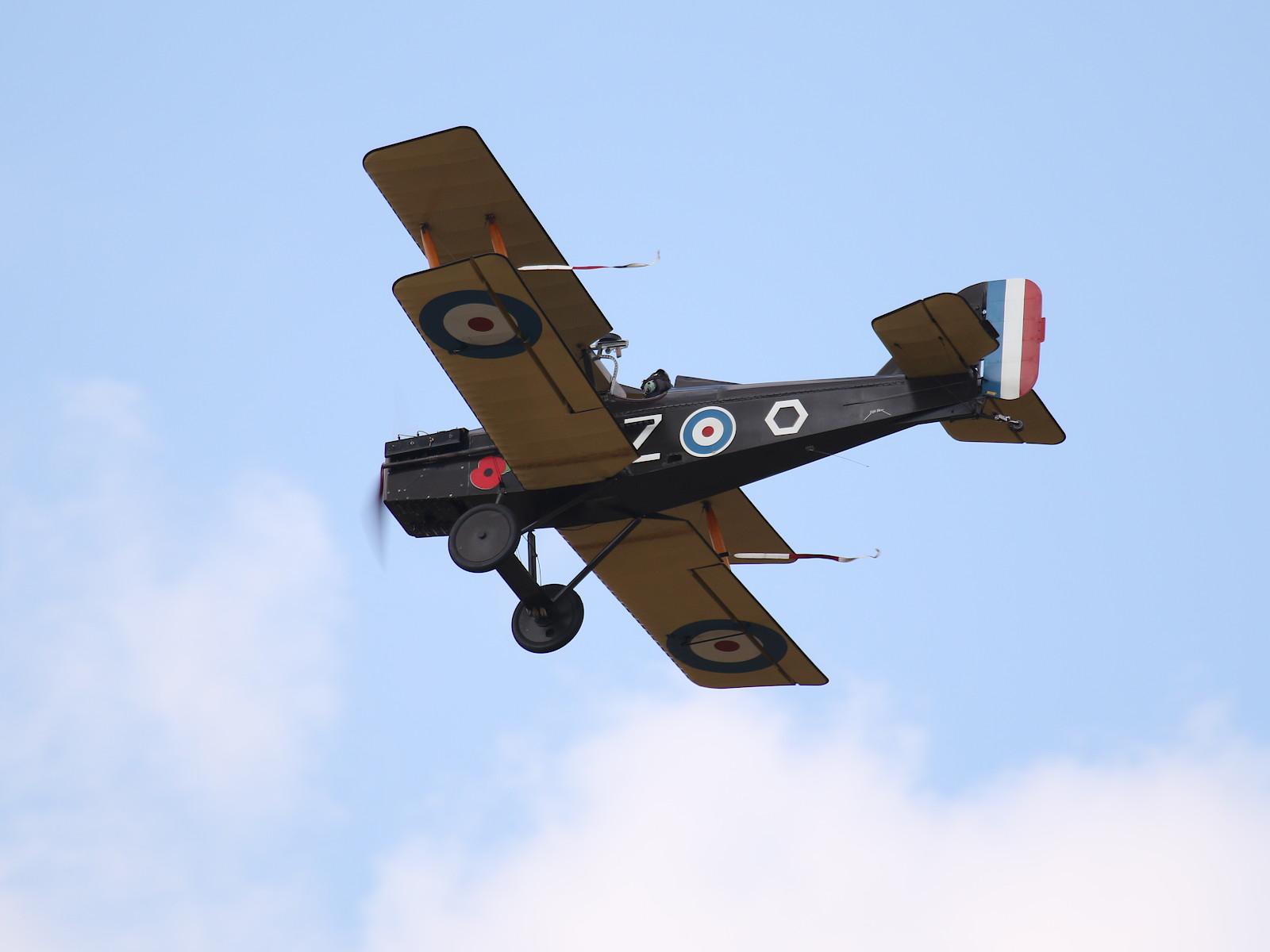 Royal Aircraft Factory SE-5A Replica G-BDWJ F8010 © Doppeladler.com