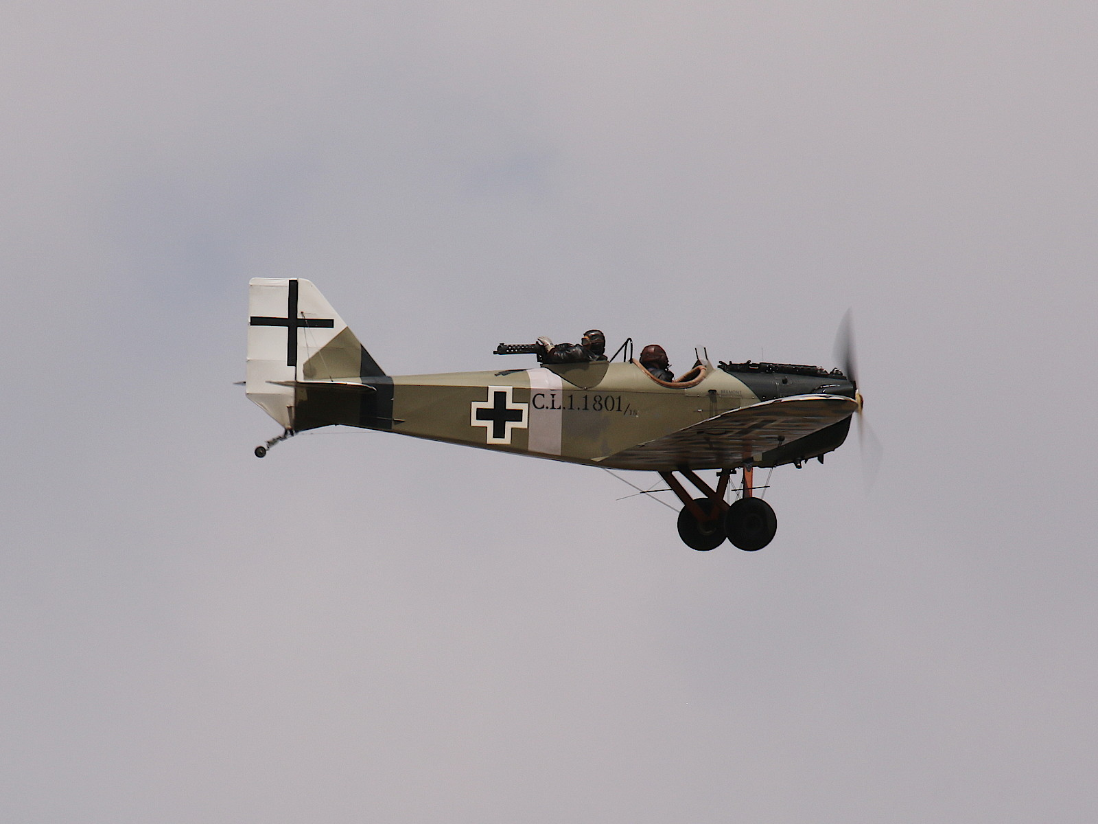 Diese Junkers CL1 entstand aus dem Umbau einer Bowers Fly-Babys © Doppeladler.com