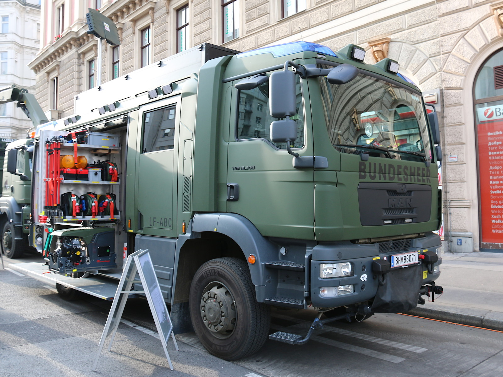 Löschfahrzeug ABC auf MAN TGM 18.340 4x4 © Doppeladler.com