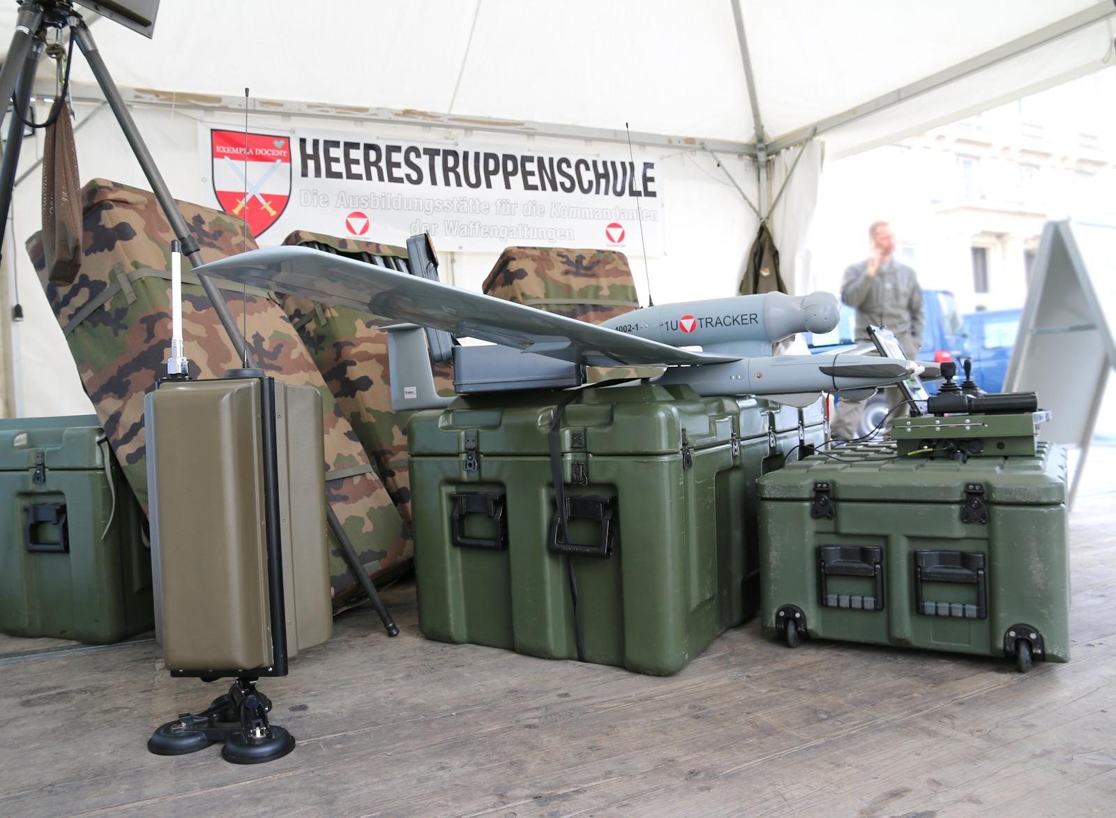 Drohnensystem Tracker / Drac von Survey Copter / Airbus D&S © Doppeladler.com