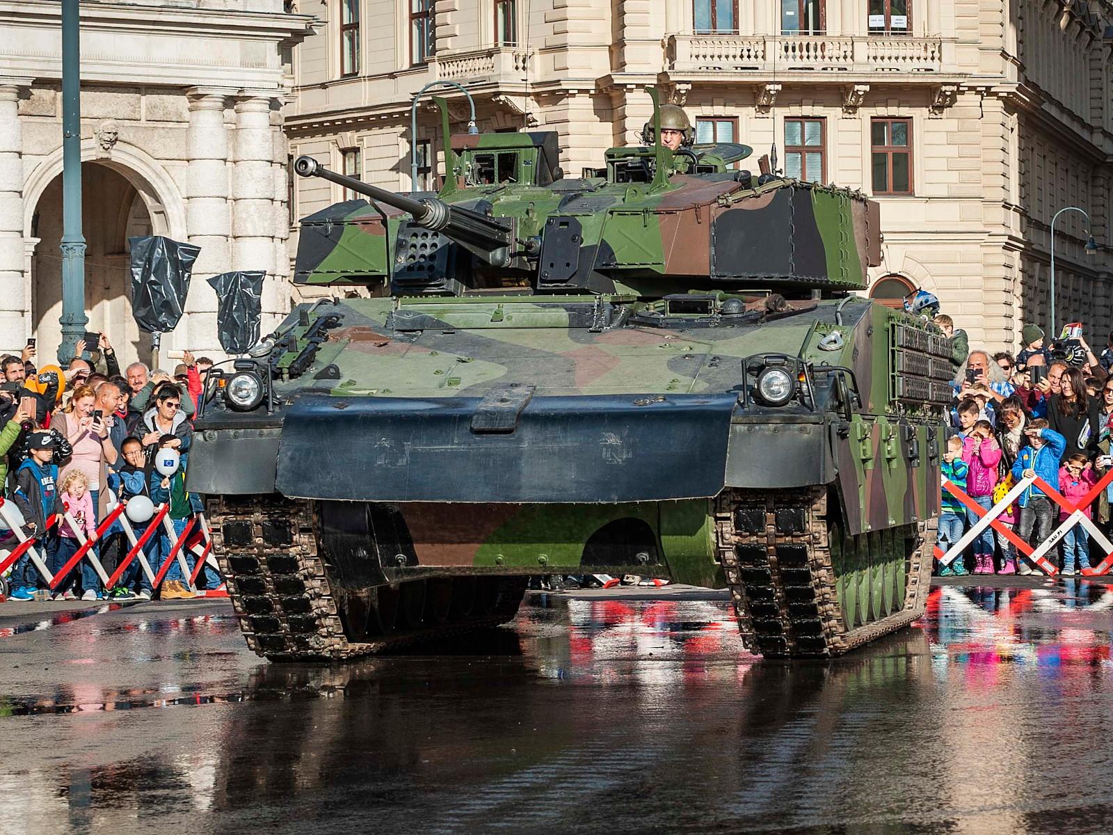 Schützenpanzer Ulan mit 30 mm Maschinenkanone © Bundesheer