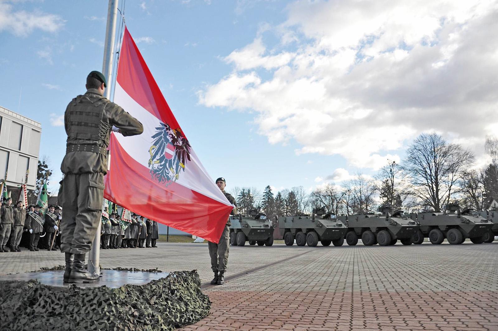 Festakt zur Übergabe der PANDUR EVO © Bundesheer