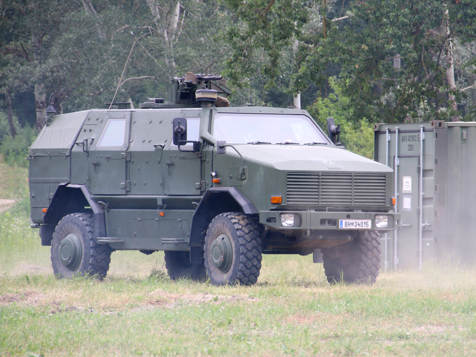 Allschutz-Transportfahrzeug ATF Dingo 2 © Doppeladler.com
