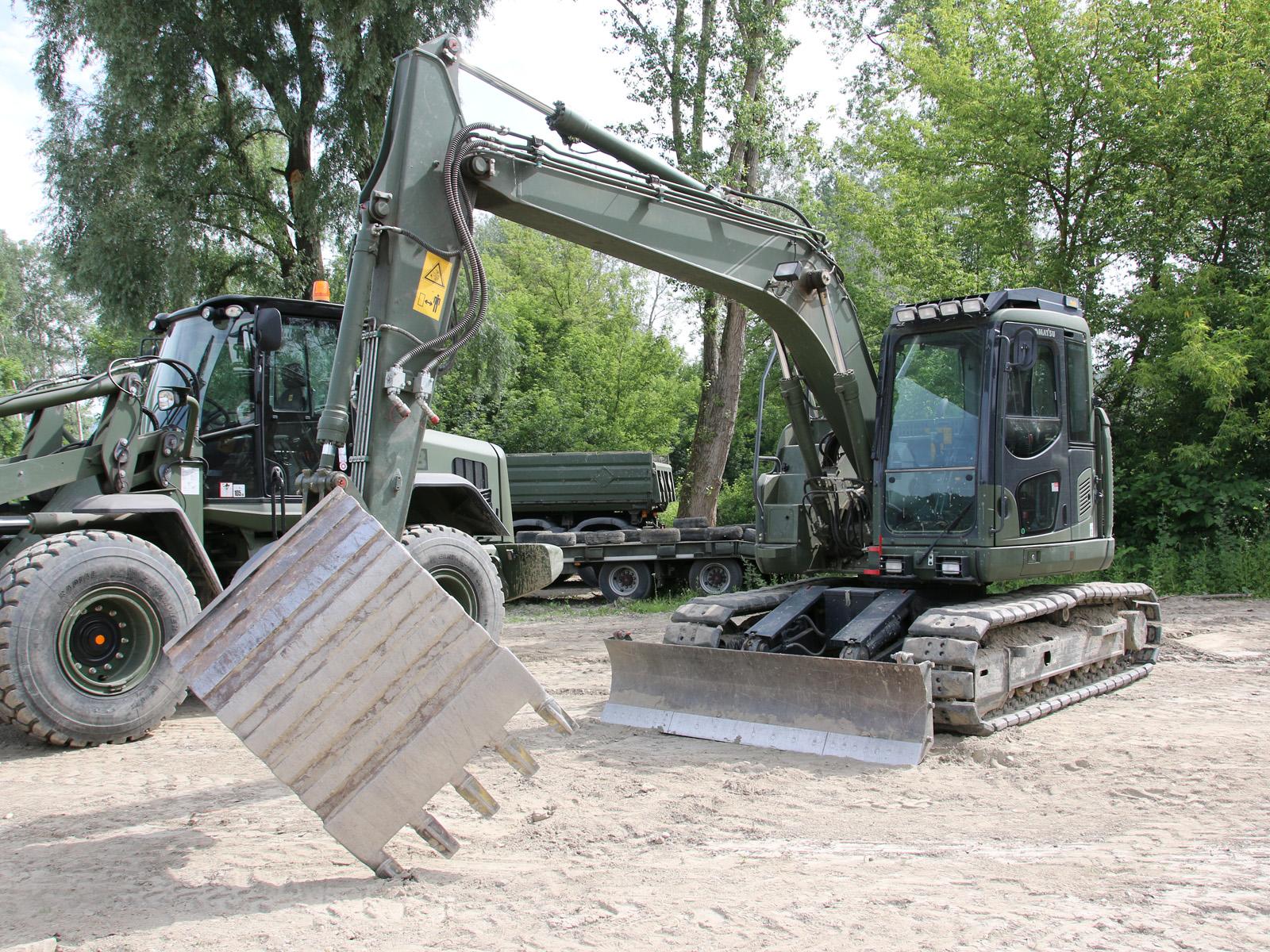 Hydraulikbagger Komatsu PC138US-10 © Doppeladler.com