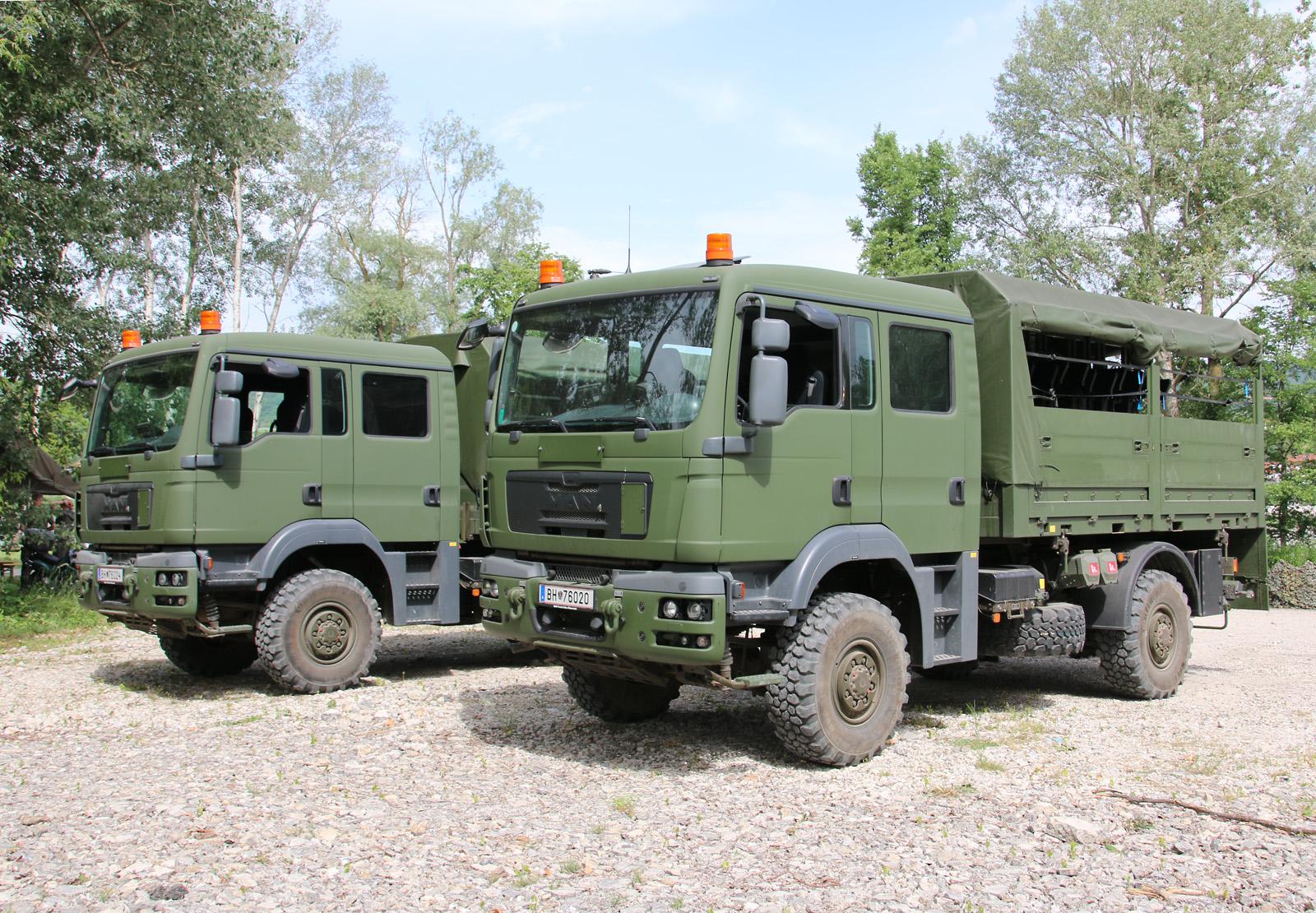 Neu: MAN TGM 14.280 4x4 AD/DOKA/FS mit Wechselaufbau Mannschaftstranport © Doppeladler.com