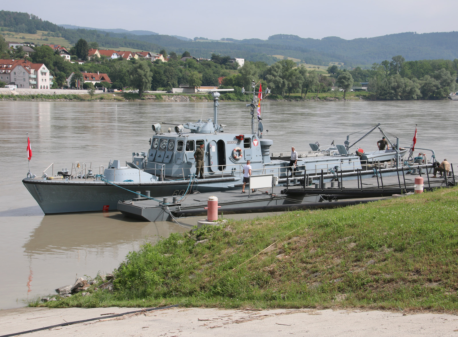 Das Patrouillenboot Niederösterreich wird von der Marinekameradschaft Admiral Erzherzog Franz Ferdinand für das HGM betreut © Doppeladler.com