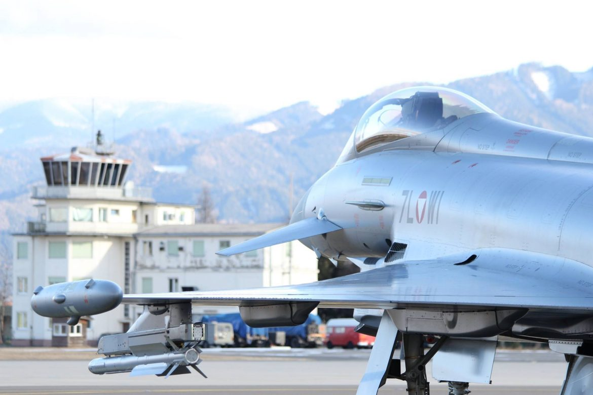 Eurofighter Typhoon in Zeltweg © Bundesheer