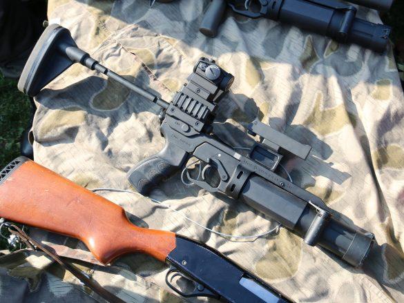 40 mm Granatgewehr ML40 mk2 von Madritsch Weapon Technology © Doppeladler.com