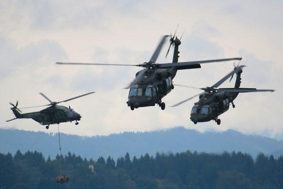 Sikorsky S-70A-42 Black Hawks und NH Industries NH-90 © Doppeladler.com