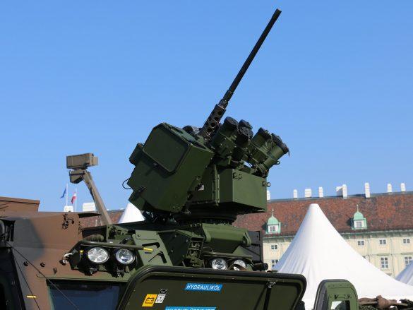 Waffenstation WS4 Panther von ESL AIT auf dem BvS10 © Doppeladler.com