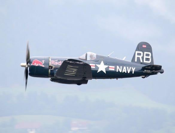 Chance Vought F4U-4 Corsair 'OE-EAS' © Doppeladler.com