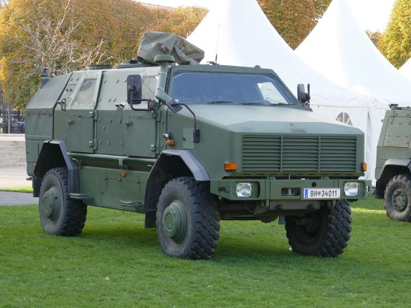 Allschutz-Transportfahrzeug ATF Dingo 2 als Patrouillen- und Sicherungsfahrzeug © Doppeladler.com