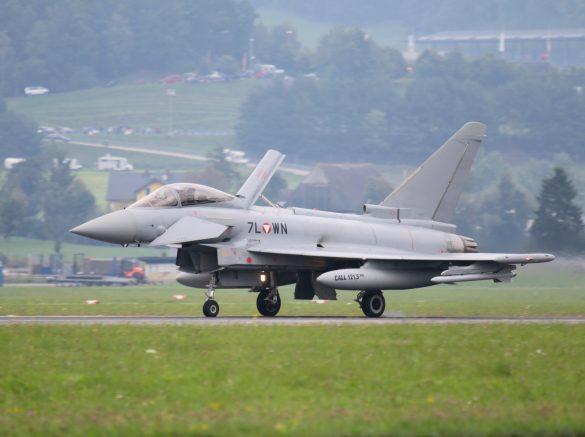 Eurofighter Typhoon '7L-WN' der österreichischen Luftstreitkräfte © Doppeladler.com