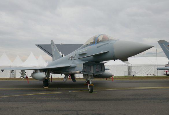 Eurofighter Typhoon '31+45' der Deutschen Luftwaffe © Doppeladler.com