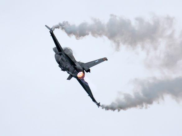 Lockheed Martin F-16CJ Fighting Falcon '535' des griechischen Demo Teams Zeus © Doppeladler.com