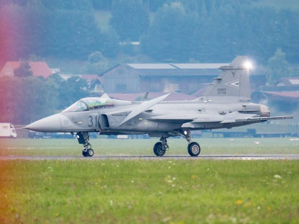 Saab JAS-39C Gripen '31' aus Ungarn © Doppeladler.com