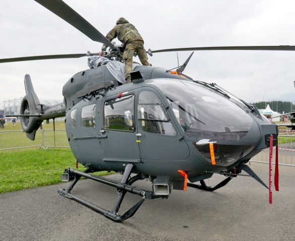 Airbus Helicopters H145M '76+02' der Luftwaffe © Doppeladler.com