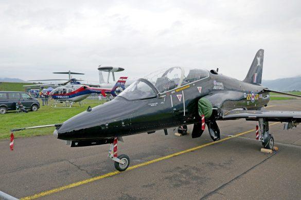 BAe Systems Hawk T1A 'XX321' der Royal Air Force © Doppeladler.com