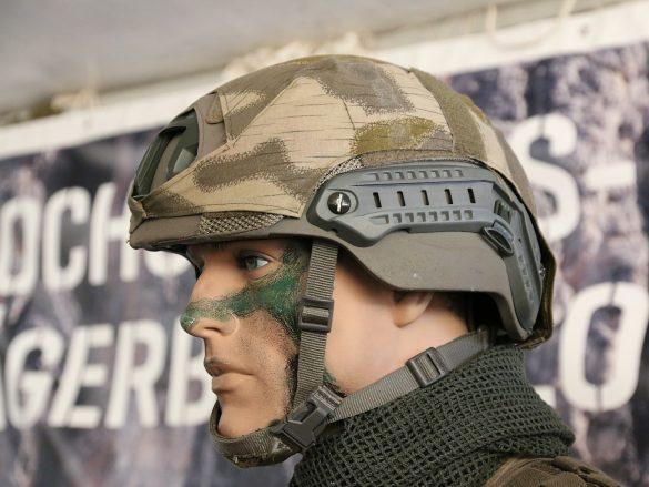 Ops-Core Sentry XP Mid Cut Helm mit Tarnüberzug © Doppeladler.com