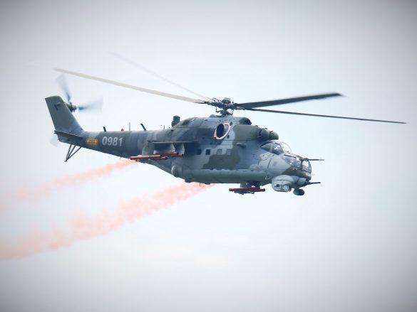 Mil Mi-24V Hind '0981' aus Tschechien © Doppeladler.com