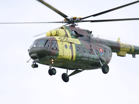 Mil Mi-17 Hip '0820' aus der Slowakei © Doppeladler.com