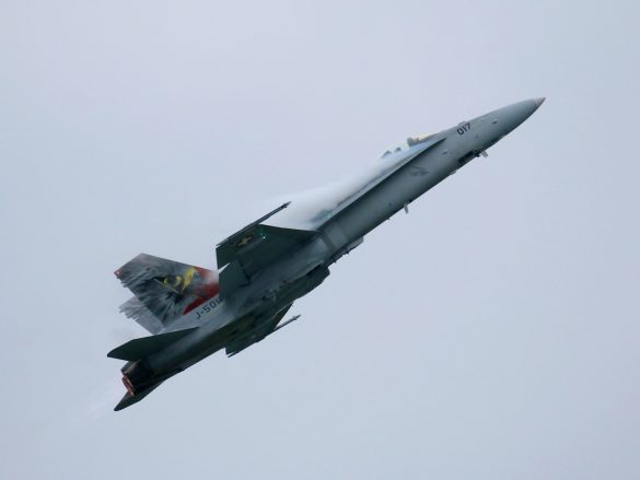 McDonnell Douglas F/A-18C Hornet 'J-5017' © Doppeladler.com