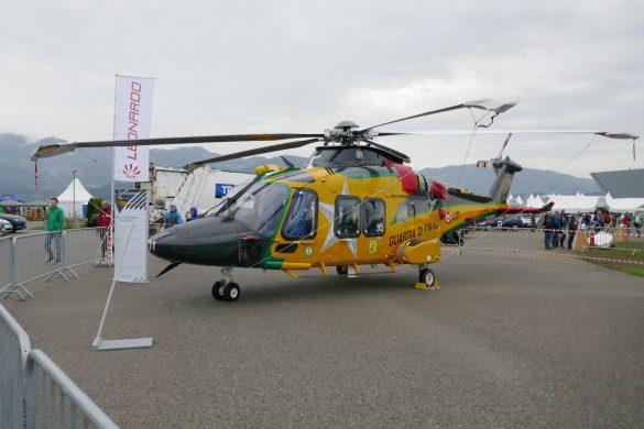 Leonardo Helicopters AW169 'GF-501' der Guardia di Finanza © Doppeladler.com