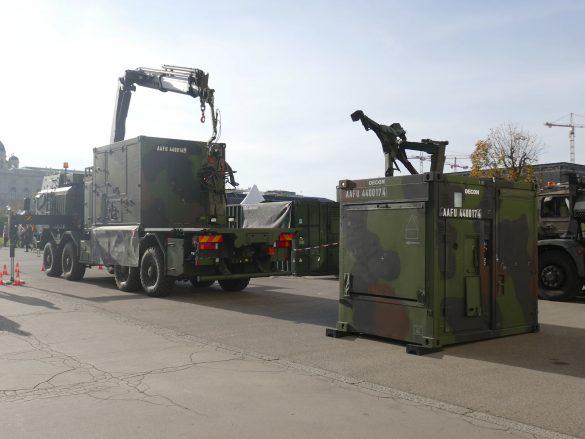 ABC Dekontaminationssystem MAMMUT auf Trägerfahrzeug RMMV MAN HX2 41.545 8x8 BB-MIL © Doppeladler.com