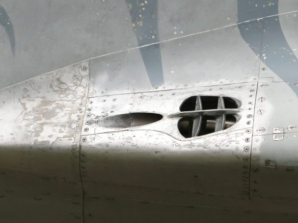Gunport der Mikoyan Gurevich MiG-29 UBS Fulcrum '1303' © Doppeladler.com