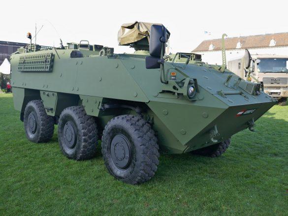 Mannschaftstransportpanzer PANDUR Evolution von GDELS Steyr © Doppeladler.com