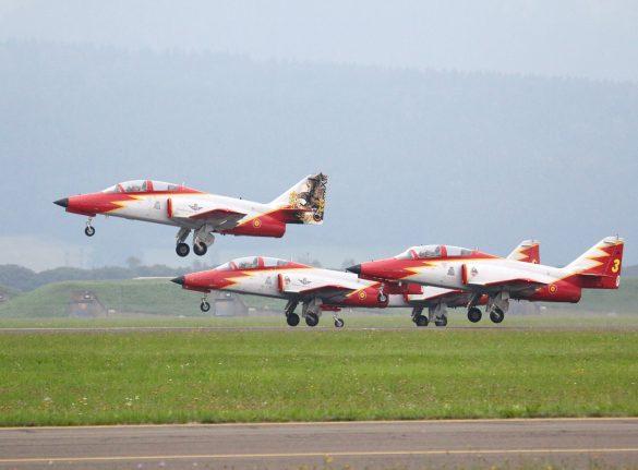 Patrulla Aguila (CASA C-101 Aviojet) © Doppeladler.com