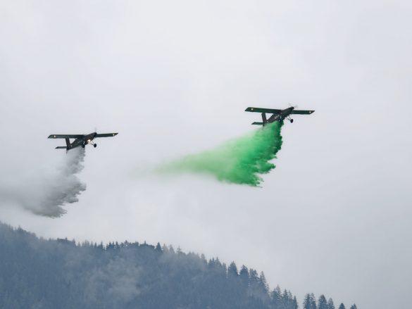 Pilatus PC-6 Turbo Porter als Löschflugzeuge © Doppeladler.com