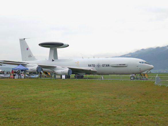 Boeing E-3A Sentry 'LX-N90454', ein AWACS der NATO © Doppeladler.com
