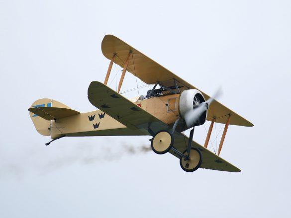 FVM Ö 1 Tummelisa, ein Doppeldecker aus den 1920ern © Doppeladler.com