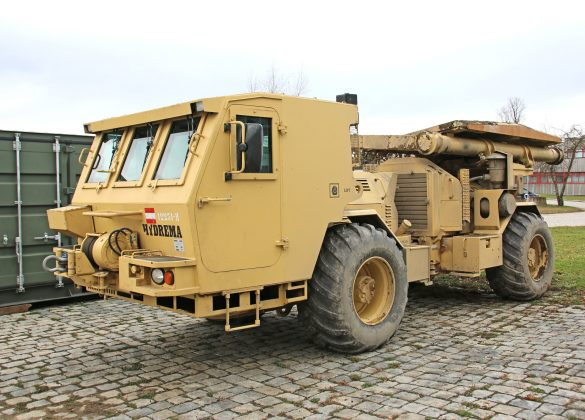 Minenräumgerät Hydrema 910 MCV-2 © Doppeladler.com