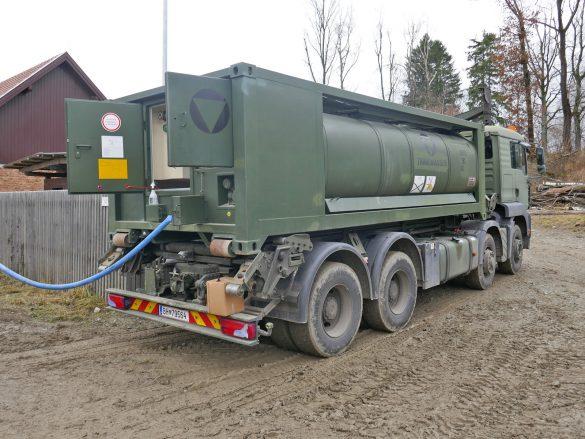 Das Trinkwasser wurde in der Main Operating Base in Langenlebarn selbst aufbereitet © Doppeladler.com