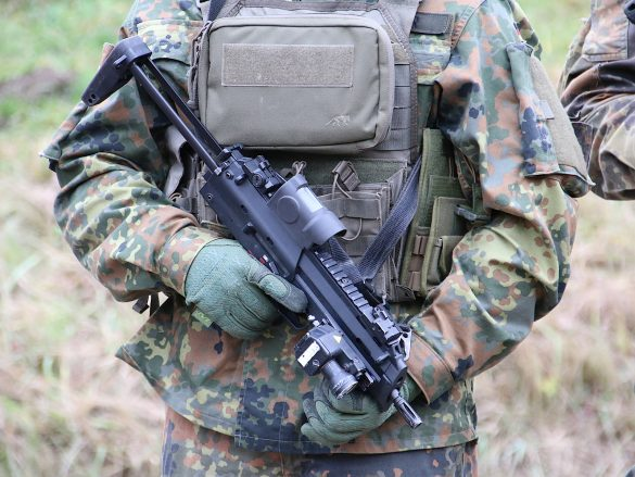 4,6 mm Maschinenpistole MP7 von Heckler & Koch © Doppeladler.com