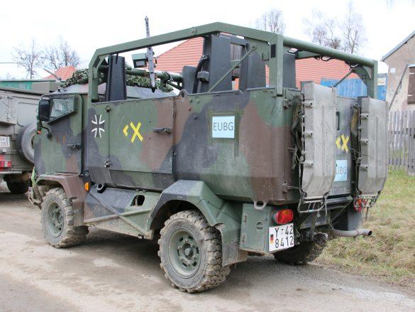 Der MUNGO kann in einem CH53 transportiert werden und 2+10 Personen befördern © Doppeladler.com