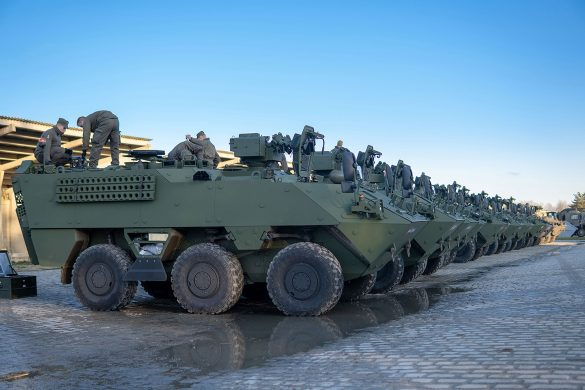 Mannschaftstransportpanzer PANDUR Evolution © Bundesheer