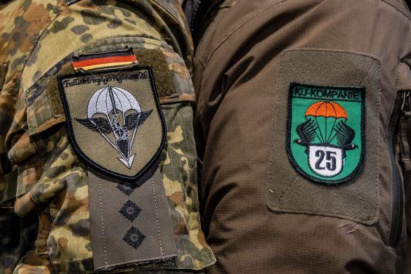 Seite an Seite - das deutsche Fallschirmjägerregiment 26 und das Jägerbataillon 25 © Bundesheer