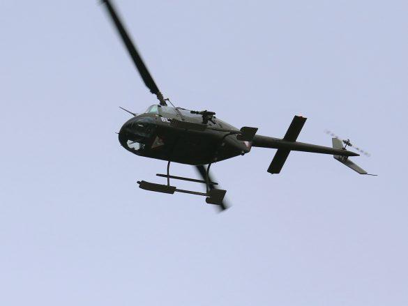 Luftnahunterstützung durch Bell OH-58B Kiowa © Doppeladler.com