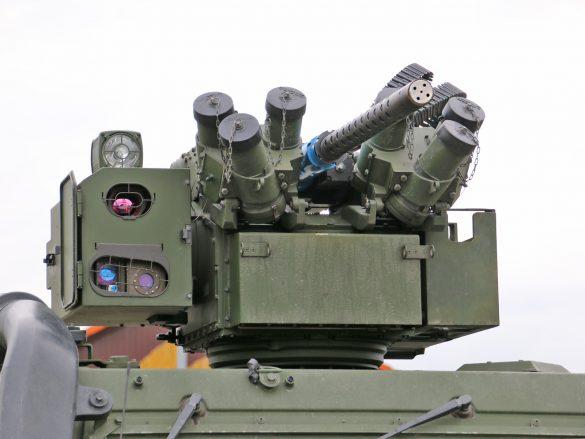 Waffenstation WS4 Panther von der ESL Advanced Information Technology GmbH © Doppeladler.com