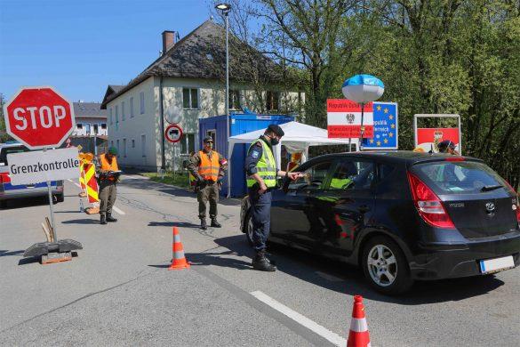 COVID-19 Assistenzeinsatz - hier das Grenzmanagement © Bundesheer