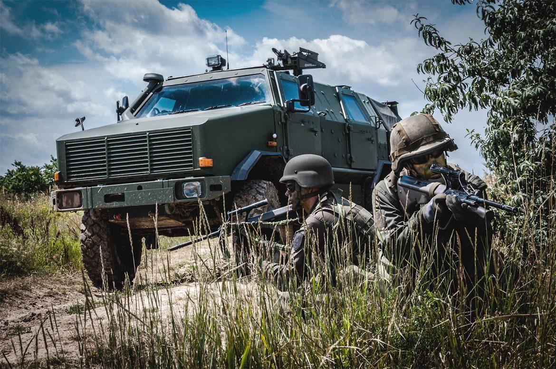 Soldaten des Österreichischen Bundesheeres © Bundesheer